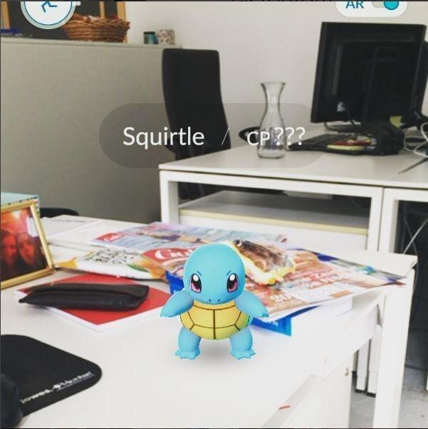 Auch in der GALA-Redaktion wurden schon Pokémon gesichtet...