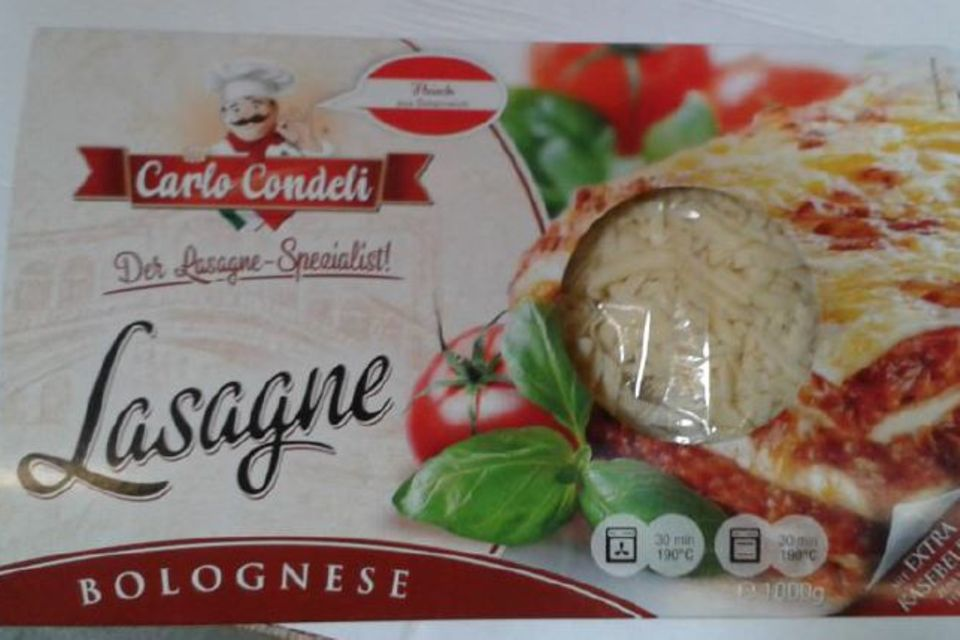"""Lasagne-Bolognese von """"Carlo Condeli"""""""