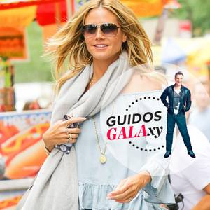 Heidi Klum unterwegs in New York