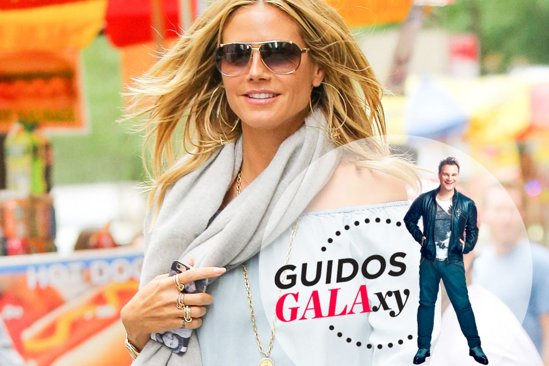Heidi Klum unterwegs in New York