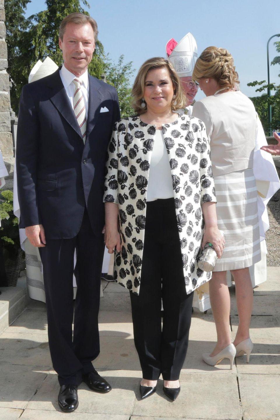 Großherzog Henri von Luxemburg, Großherzogin Maria Teresa