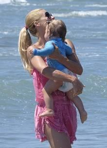 Bei Michelle Hunziker und ihrer Tochter Celeste ging noch mal alles gut