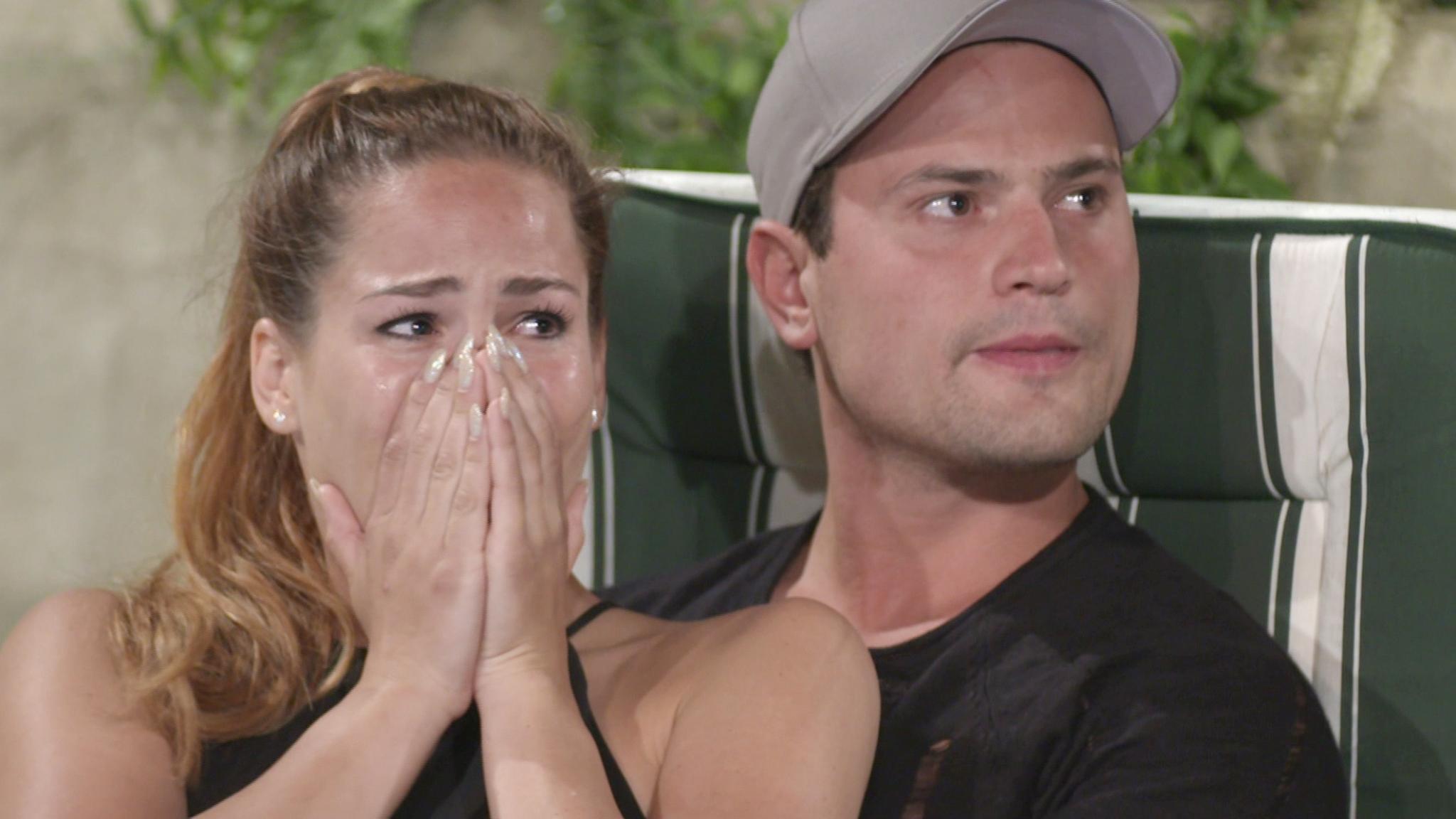 Angelina Heger und Rocco Stark sind geschockt