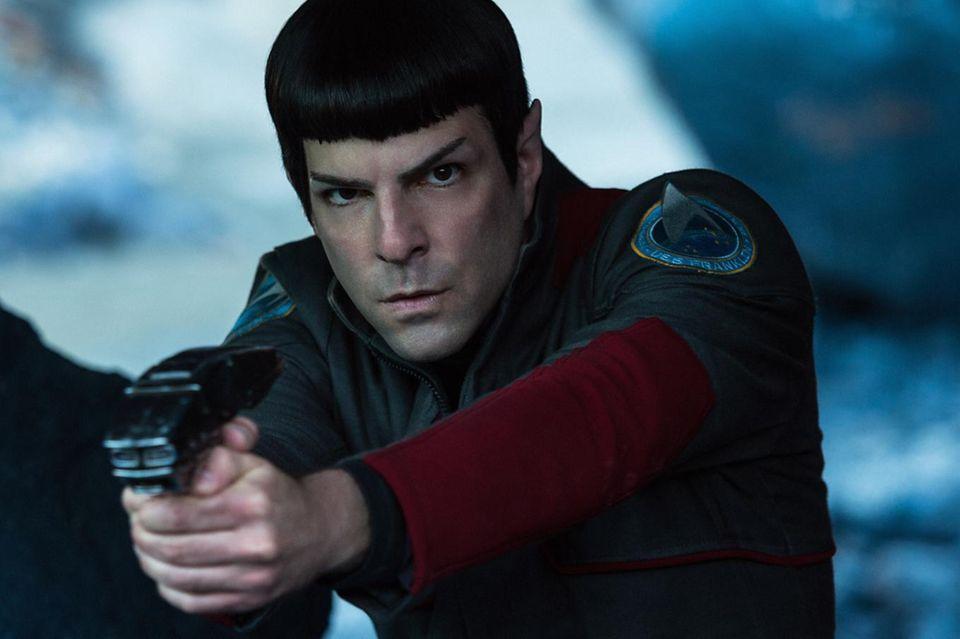 """Zachary Quinto spielt """"Spock"""" - und entwickelt eine durchaus gefühlegie Seite in """"Star Trek - Beyond"""""""