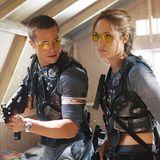 """Angelina Jolie und Brad Pitt  Der Film, der alles verändert: Durch """"Mr. und Mrs. Smith"""" lernen Brad und Angelina sich 2005 kennen und lieben. Für sie verlässt er seine Ehefrau Jennifer Aniston."""