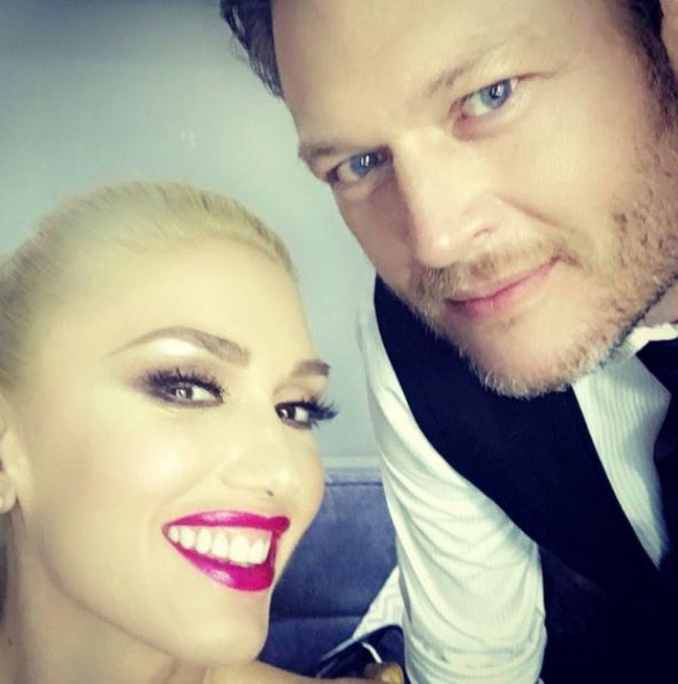 Mit Blake Shelton sieht Sängerin Gwen Stefanie endlich glücklich aus!