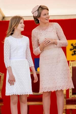 Prinzessin Elisabeth, Königin Mathilde