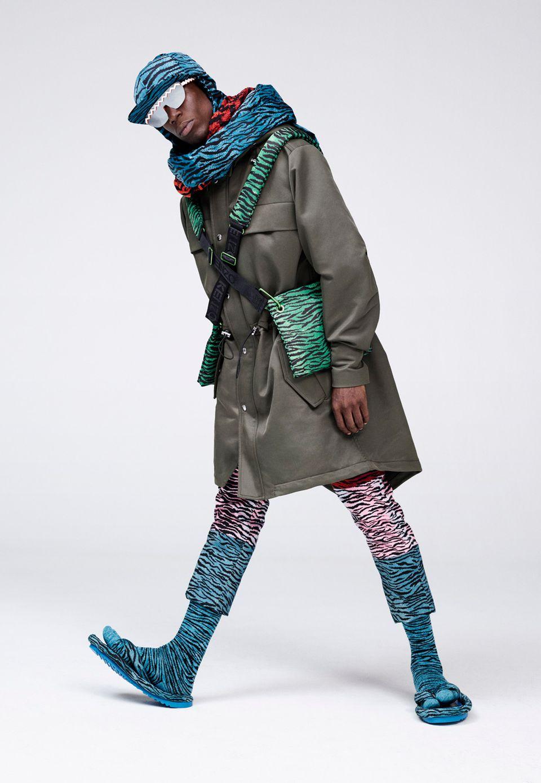 Bunte Tigerprints: Die ersten Bilder zu Kenzo x H&M