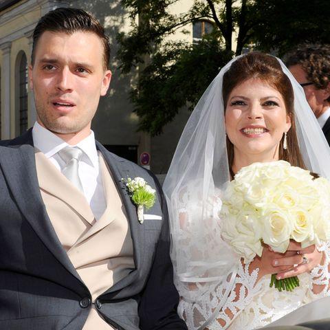 Julia Tewaag + Tobias Frank: Die Tochter von Uschi Glas heiratet