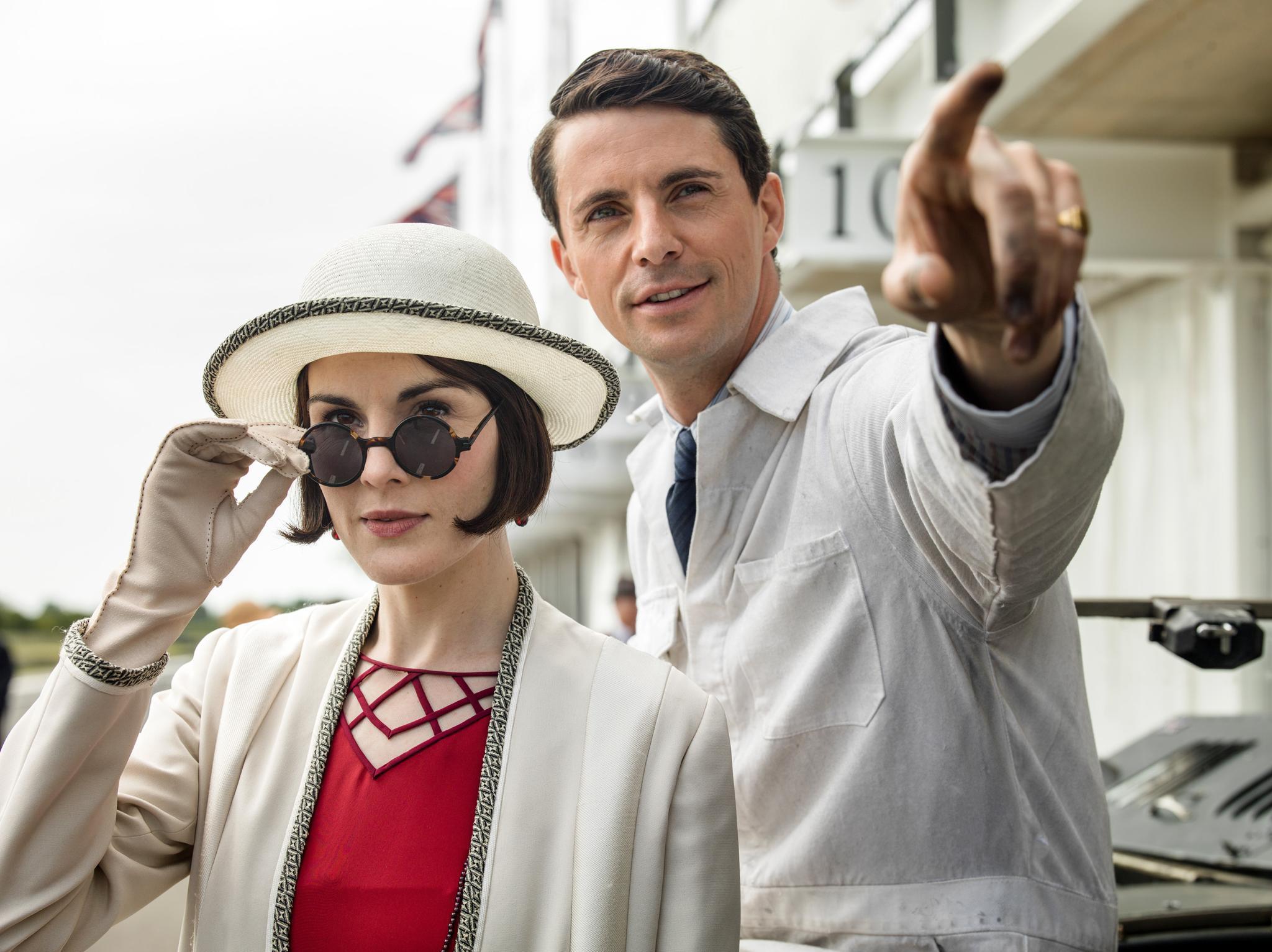Henry (Matthew Goode), der Neffe von Lady Shackleton, will jetzt das Herz von Lady Mary (Michelle Dockery) erobern