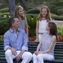 Prinzessin Sofia, Prinzessin Leonor, König Felipe, Königin Letizia