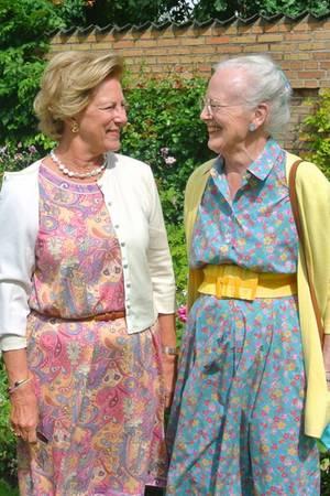 Prinzessin Benedikte, Königin Anne-Marie, Königin Margrethe