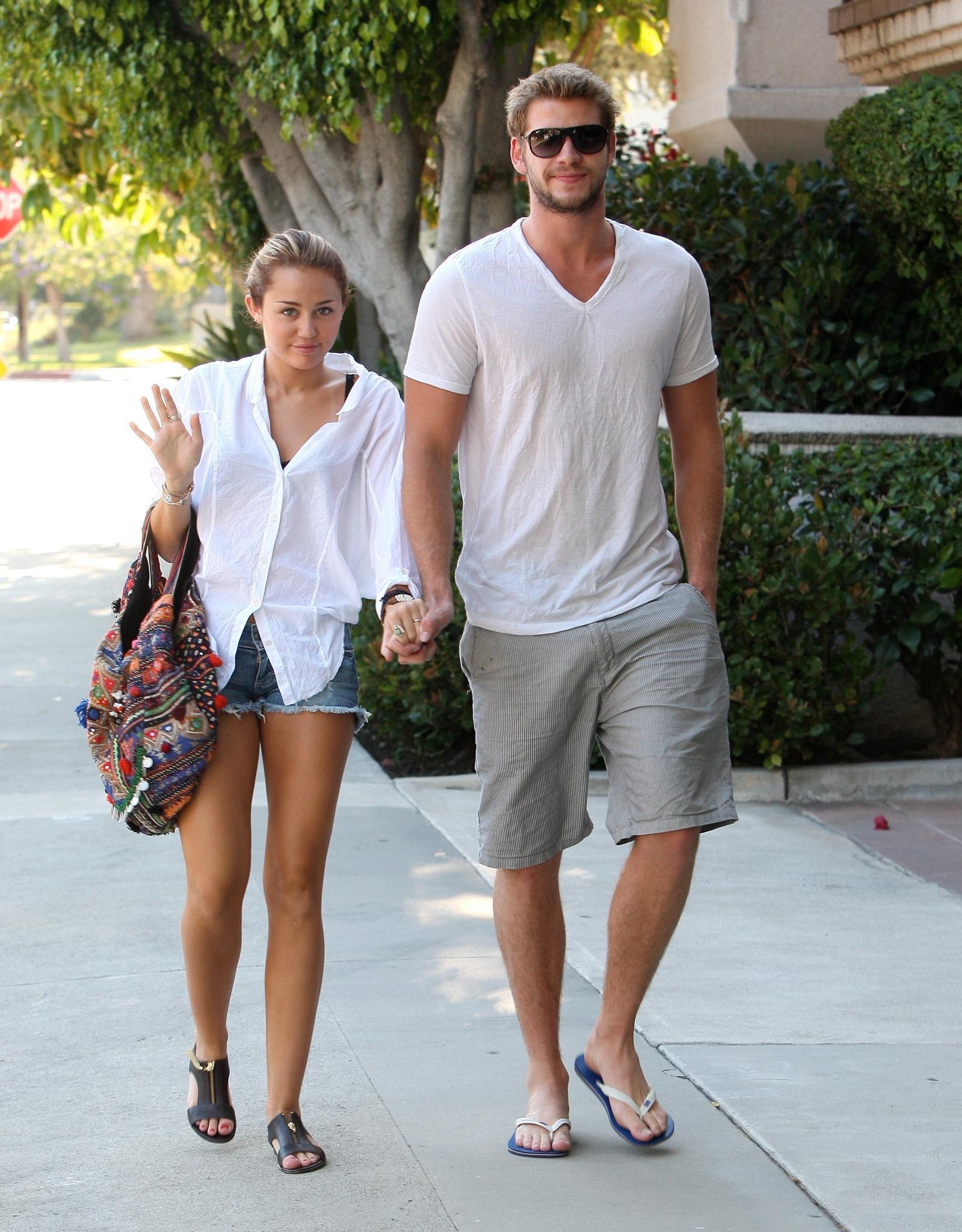 Miley Cyrus Und Liam Hemsworth Hochzeit