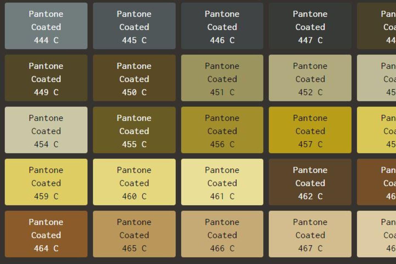 Pantone 448C: Die hässlichste Farbe der Welt
