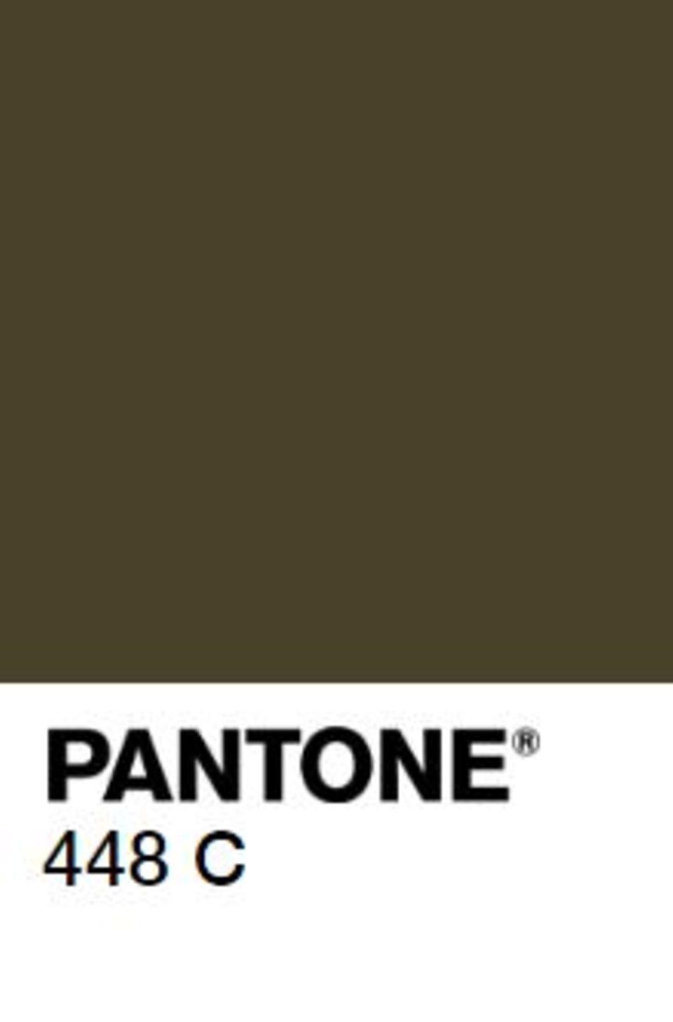 Pantone 448C: Ist diese Farbe wirklich so hässlich?