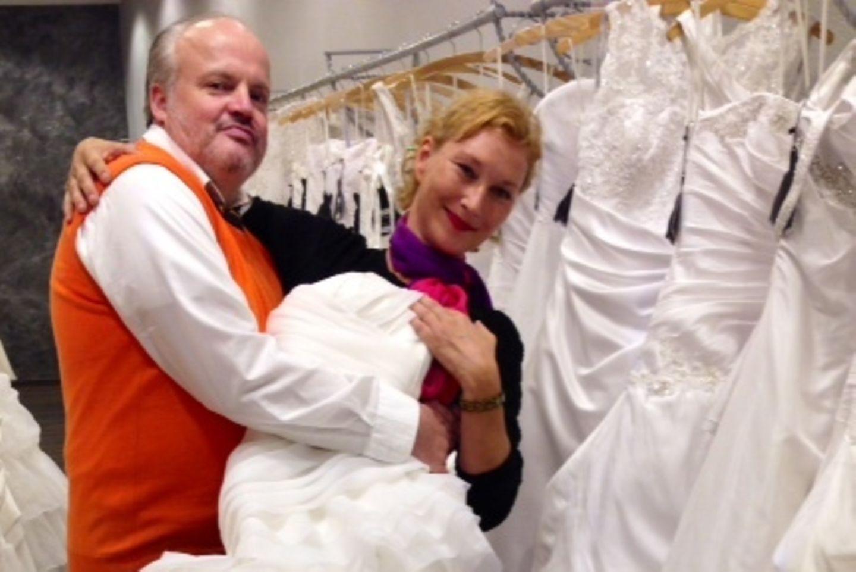 Hubert Kah und seine Ilona wollen den nächsten Schritt machen.