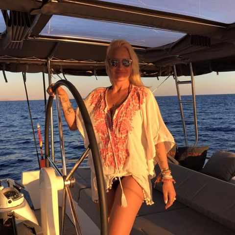 Sarah Connor im Urlaub