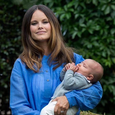 Prinzessin Sofia mit Prinz Alexander