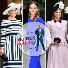 Prinzessin Victoria, Prinzessin Sofia + Prinzessin Madeleine