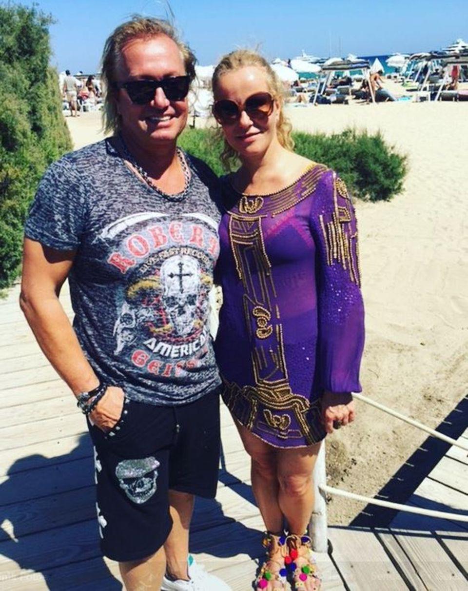Carmen Geiss: Katja Burkard trifft in Saint-Tropez auf Robert Geiss.