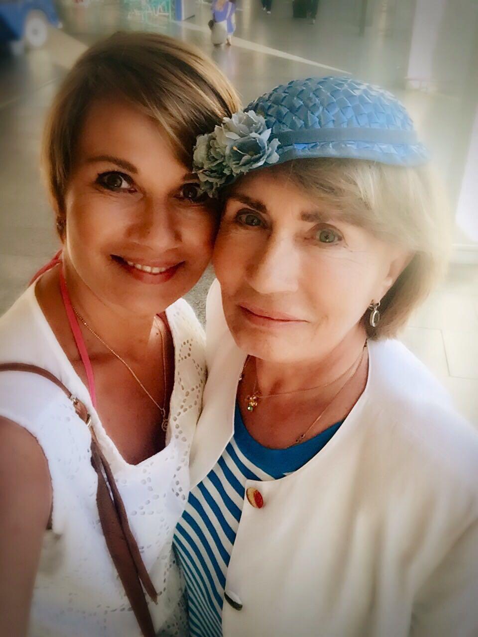 Jenny Jürgens: Jenny Jürgens mit Mutter Panja