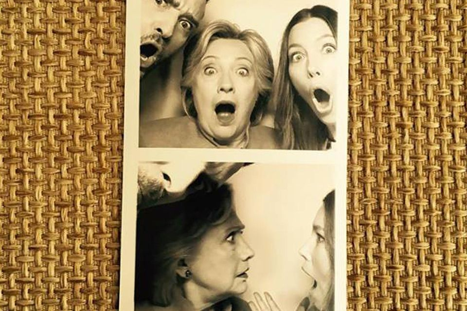 Justin Timberlake, Hillary Clinton, Jessica Biel