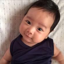 Der kleine Mareto, zwei Monate alt.