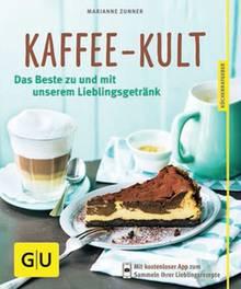 """Von wegen kalter Kaffee! Das koffeinhaltige Getränk liegt voll im Trend. Marianne Zunner serviert aromatische Leckereien mit und zum Kaffee, zum Beispiel Pumpkin Spice Cake oder Mokka-Flip. (""""Kaffee-Kult"""", Gräfe und Unzer, 64 S., 8,99 Euro)"""