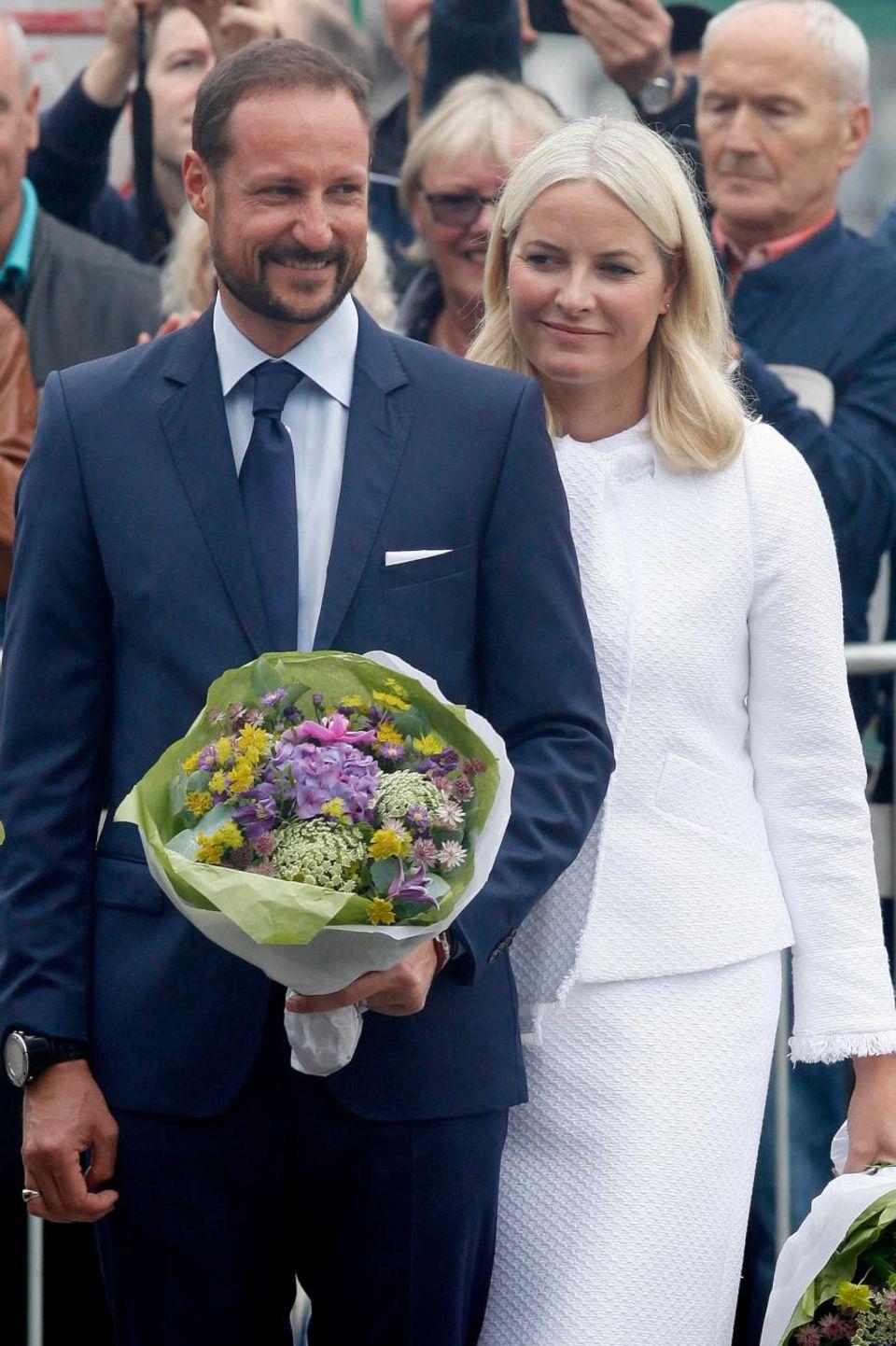 Prinz Haakon mit Ehefrau Mette-Marit