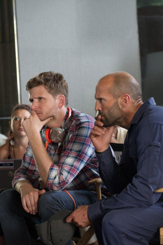 """Szenen-Check: Gansel mit Jason Statham, der auch schon im ersten Teil von """"The Mechanic"""" die Hauptrolle spielte"""