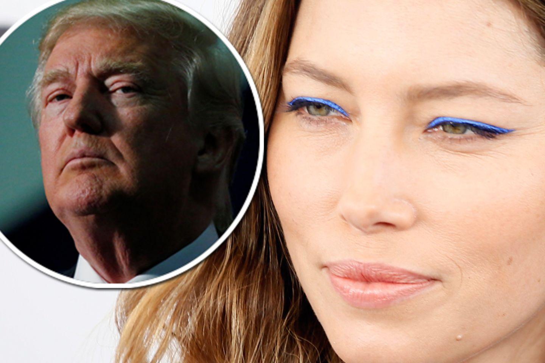 Donald Trump, Jessica Biel