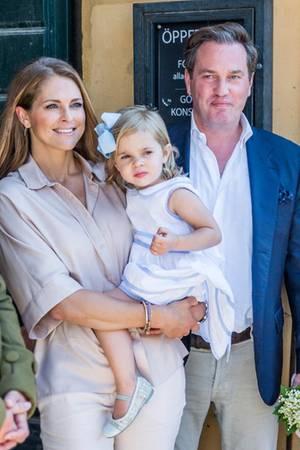 Prinzessin Madeleine, Prinzessin Leonore und Chris O'Neill