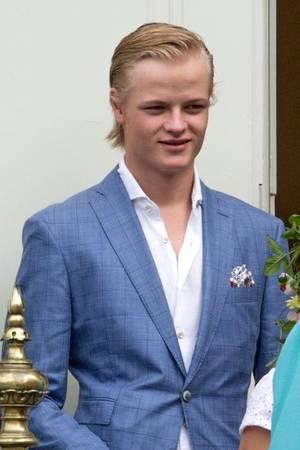 Marius Borg Høiby im Kreise seiner Familie