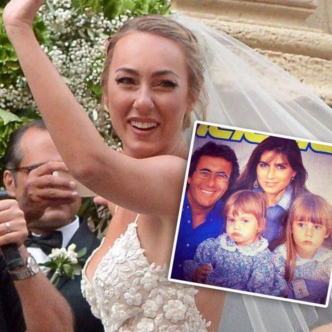 Al Bano + Romina Power: Ihre Tochter Cristèl Carrisi hat geheiratet