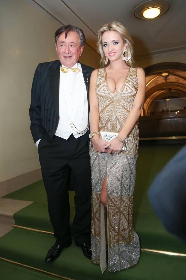 Richard und Cathy Lugner