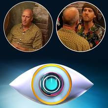 "Mario Basler und Norman Bade bei ""Promi Big Brother"""