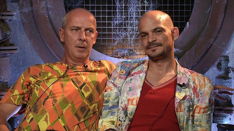 Mario Basler und Ben Teewag