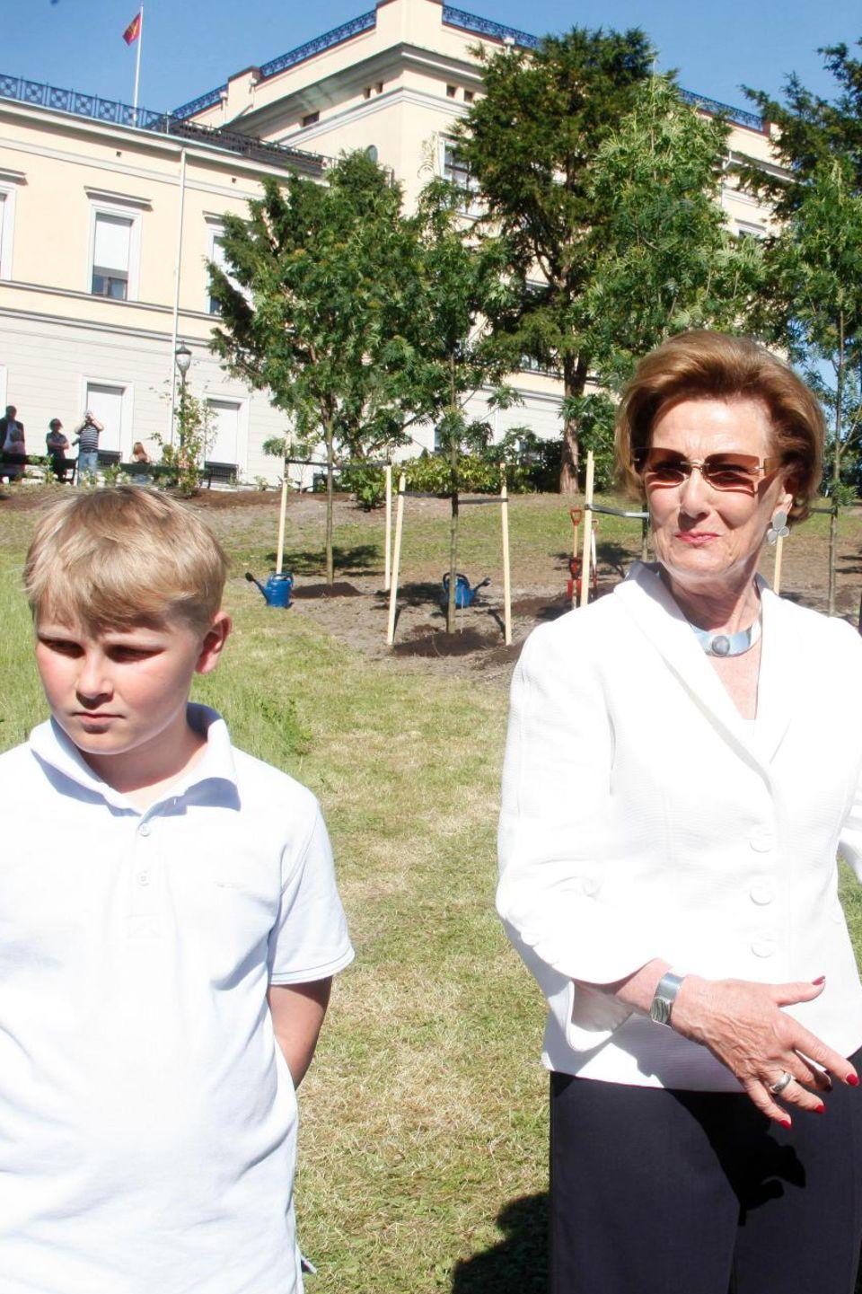 Prinze Sverre, Königin Sonja