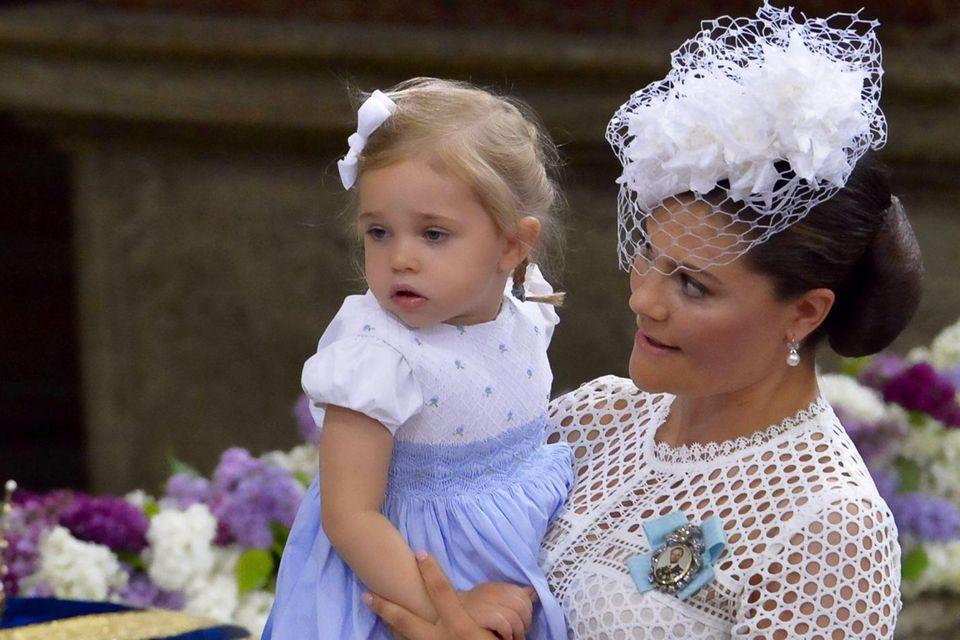 Prinzessin Victoria mit Patentochter Leonore