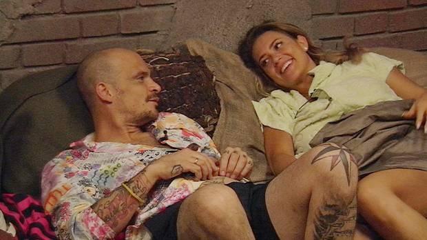 Ben Teewag und Jessica Paszka