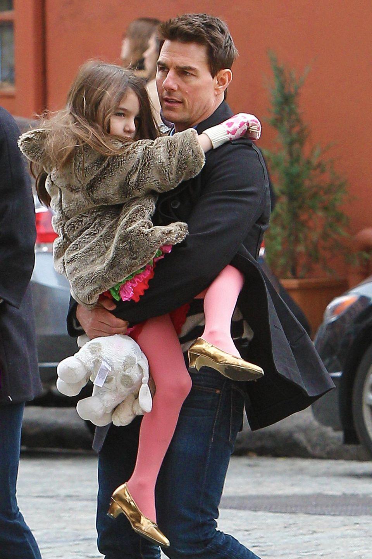 Suri + Tom Cruise