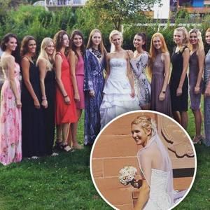 GNTM-Nancy + Hochzeitsgäste