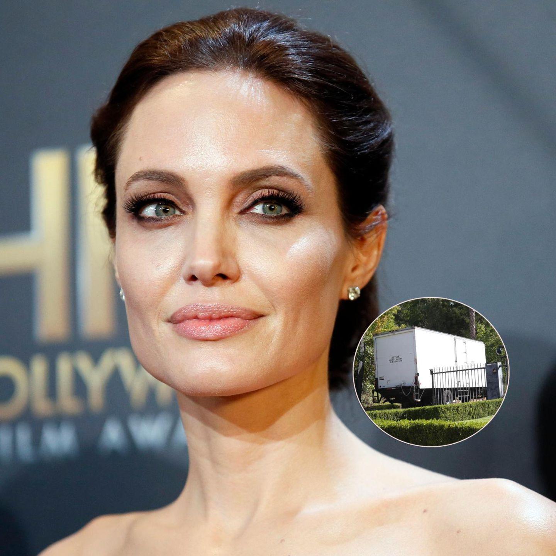 Angelina Jolie lässt die Villa in L.A. räumen
