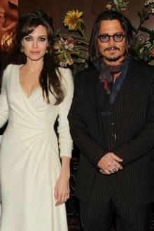 Angelina Jolie + Johnny Depp