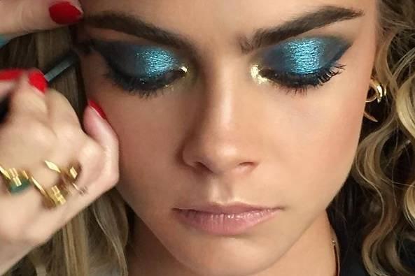 Disco-Lider: Auch auf Instagram dokumentiert Lisa Eldridge ihre Werke. Ihre Follower ruft sie unter dem Hashtag #mylisalook dazu auf, eigene Make-up-Kreationen zu schminken und zu posten