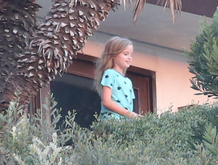Ein scheinbar glückliches Mädchen: Vivienne Marcheline Jolie-Pitt.