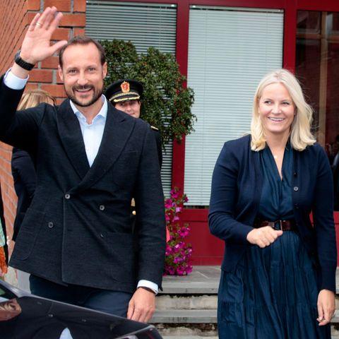 Kronprinz Haakon, Kronprinzessin Mette-Marit