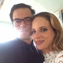 Tobias Licht und Nora Huetz haben geheiratet