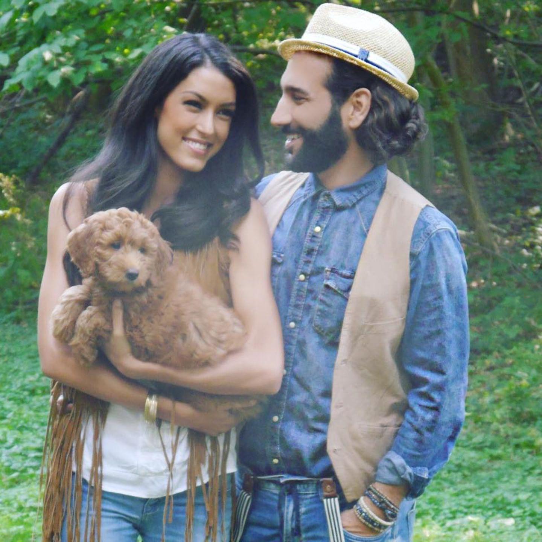 16. Juni 2016  Nein, sie haben noch keinen Nachwuchs. Aber Macchia, die Hündin von Rebecca Mir und Massimo Sinató, ist für die beiden wie ein Baby!