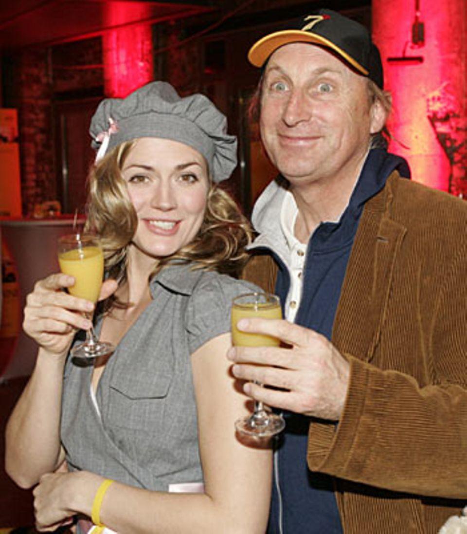 Nina Bott und Otto Waalkes